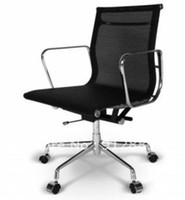 Wholesale Modern Office Chair Eames Low Back Mesh Chair Black Swivel Chair Office Furniture Fashion Chair