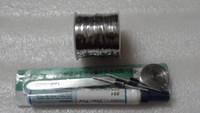 Wholesale 100 feet mm tab wire feet5 Solar Panel ribbon Tabbing wire Soldering Wire flux pen for DIY solar panel