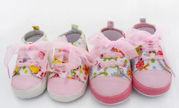 Wholesale Foreign trade baby toddler shoes baby shoes baby shoes the wild baby shoes Floral shoes chiffon straps