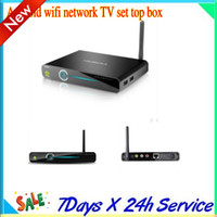 Wholesale 2013 hd a Android smartphone high definition hard disk player wifi network TV set top