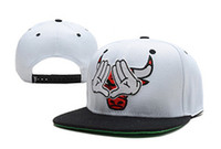 Wholesale mitchell ness Dope Bulls Triangle Hands white black sport teams hats kids snapbacks fitted hats fity caps adjustable hats