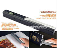 Wholesale easyscan Portable Scanner with TF Card Storage Handhold Mobile Scanner