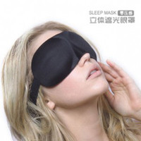 Wholesale Piece New Korean Portable D Stereo Mask Shading Sleeping Eye Mask Relaxation Blindfold Sleep Aid Travel Rest