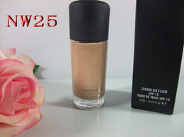 High quality makeup face foundation NW STYLE Foundation Liquid 30ML SPF15