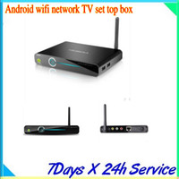 Wholesale best serivce with high quality hd a Android smartphone high definition hard disk player wifi network TV set top