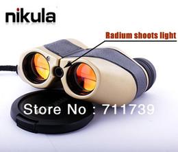 Wholesale Nikula LLL de la visión nocturna de x Con Radio dispara a la luz de la Caza Telescopio Binocular m m