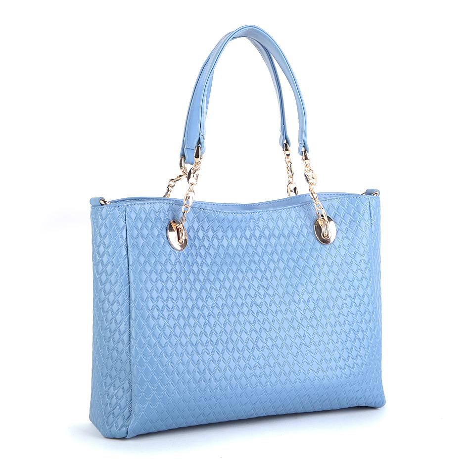 China Brand Baimulin 8009 blue women fashion shoulder bags 2013 ladies ...