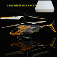 3ch helicopter - Simple Box Package Metal CH RC Helicopter Remote Control Helicopter Gyro Toy Main Blades Tail