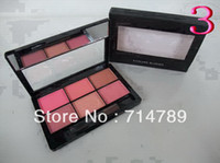 Wholesale New Makeup Blush COLORS BLUSHER BLUSH with brush free china post air mail shipping