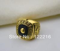 Envío libre réplica de Babe Ruth Hof salón de la fama del anillo de la carrera de béisbol NY campeonato World Series 2009 Tamaño 10