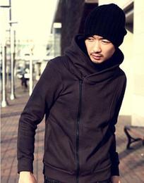 Wholesale - HOT 2012 Anime Assassin's Creed Cosplay Costume Ezio grey cosplay costumes men Jacket coffee Coat