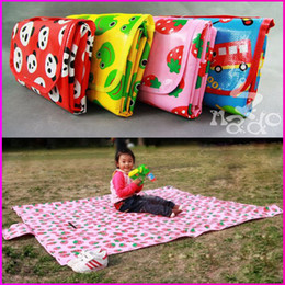 Wholesale NADO Picnic Mat Large Size Baby Climbing Mats Children s Play Mats Portable Beach Mats Folded Small Cartoon Accept Mix Design CM TZ01
