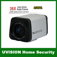 Wholesale CCTV TVL SONY CCD X Optical Zoom DSP Color Video Camera Auto Focus