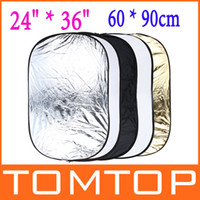 Wholesale 24 x inch in Portable Photography Studio Photo Collapsible Light Reflector x cm D871
