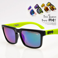 Wholesale factory price SPY KEN BLOCK HELM Cycling Sports Sunglasses Outdoor Sun glasses Brand New Black Skin Snake SPY OPTIC HELM Ken Block
