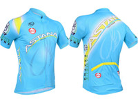 Wholesale Astana cycling jersey unique cycling jerseys Astana mtb cycling wear summer