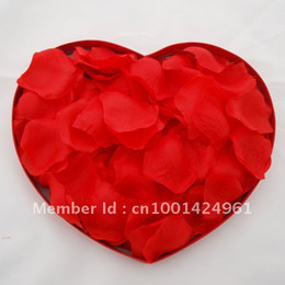 Wholesale silk rose petal Party decoration wedding rose petal