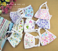 Wholesale Cute Girls Womens Gauze Masks Face Mouth Mask Anti dust Cold Flue Respirator Mask