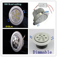 Wholesale European and American world champion hot product Downlight W Dimmable LED ceiling light lens X1W V