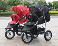 Wholesale Baby strollers light folding cart three wheeled Kids strollers export Europe can lie flat umbrella car buggies stroller