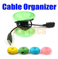 Wholesale New Turtle Cable Cord Wire Organizer Bobbin Winder Wrap For iPod MP3 MP4 Laptop
