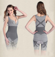 Women Bodysuit Thanksgiving Day Freeshipping-Wholesale-Hot Selling,Fashion Natural Bamboo Charcoal Body Shaper Underwear Slimming Suit bodysuits