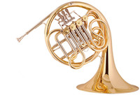 Wholesale Brass Wind Music Instrument French Horn Bb F Key Roll Bar HRB L