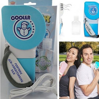 Wholesale New USB Battery Portable Cool Fan Hand Held Mini Air Conditioner Hot Sale