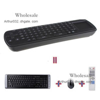Wholesale Lowest Touchpad Mini RC12 Fly Air Mouse Wireless Keyboard with Remote Control GHz for Google Android TV Box UG802 MK808