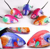 Wholesale Clockwork Mouse Childhood Classic Tin Mice Reminiscence Mouse Dolls Wind up Toys Children s Gifts Tin Toy