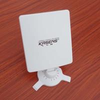 Wholesale 2013 Newest Kasens KS N5200 MW dBi Panel Antenna Mbps Wireless USB WIFI Adapter M GHz b g n
