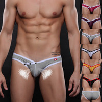 Hot Sexy Men's Underwear Breathable Mesh Stretch Briefs Seam...