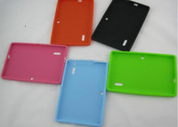 Wholesale Soft Silicone Case For Q88 Q8 Tablet PC Protective Back Cover Case For Inch Q88 Android Tablet PC Laptop Multi Colors