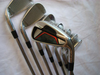Wholesale complete golf clubs p1 irons set PW irons with dynamic gold steel S300 shaft