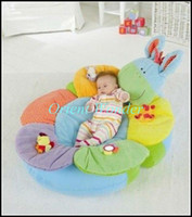 Wholesale ELC Blossom Farm Sit Me Up Cosy Baby Seat inflatable Soft Sofa kid Play Mat Play Nest cartoon cushio
