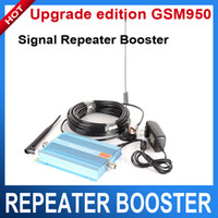 Wholesale Blue Mobile Signal Booster Mhz Cellphone Repeater Amplifier Upgrade edition GSM950 works with GSM EGSM MHz G network
