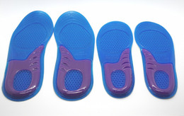 free shipping sport silicone massaging gel shoes insole men size 8-12,women:6-10 600pair lot