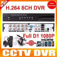 Wholesale 8CH H dvr HDMI Network CCTV DVR FUll D1 Real time Recording DVR Recorder UTK DVR HL
