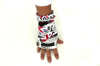 Wholesale 2013 Brand New Mens hip hop Stretch Sport UV Sun Protection Sleeve Sets Covers Gloves National Flag XJ