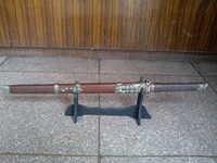 Wholesale kungfu sword decorated with turquoise