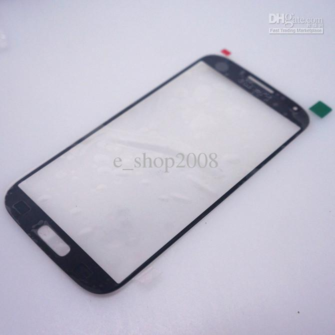 Buy Outer Screen Front Glass Lens touch Samsung Galaxy S4 SIV i9500 White Blue