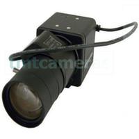 auto iris camera - Super Mini H TVL Sony Super HAD CCD Effio P mm Auto IRIS CS Lens Box Bullet Camera Lux WDR OSD Menu HLC