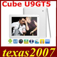 Cube 9.7 inch Quad Core 9.7inch Cube U9GT5 U9GT V Quad Core tablet pc RK3188 1.6GHz Retina Screen 2048x1536px 2GB RAM 16GB ROM Android 4.1 Dual Camera