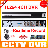Wholesale DVR Channel Stand Alone CH H Real Time DVR Network Security Digital Video Recorder For CCTV System
