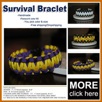 Other military survival - Cobra PARACORD BRACELETS KIT Military Emergency Survival Bracelet King