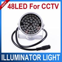 cctv ir led camera - 48 LED illuminator Light CCTV IR Infrared Night Vision For Surveillance Camera
