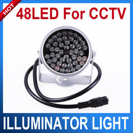 Wholesale 48 LED illuminator Light CCTV IR Infrared Night Vision For Surveillance Camera