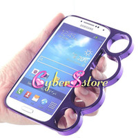 Plastic brass knuckles rings - 30pcs Fashion Fist Finger Ring Chrome Aluminium Hard Back Case Cover Brass Knuckle For Samsung Galaxy S4 S IV i9500