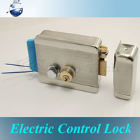 Wholesale Stainless Steel Double Head Electric Control Locks with Low temperature for door access control