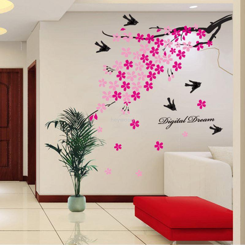 Stickers living room bedroom tv backdrop the walls wall decoration